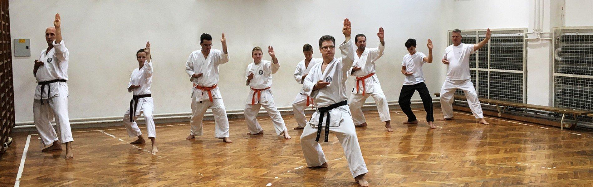 Wado-ryu karateoktatás Szegeden